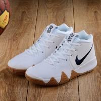 Nike Kyrie Irving 4 White Gum Premium Original /sepatu sneakers murah