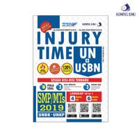 Buku INJURY TIME UN+USBN SMP/MTs 2019 (Kompas Ilmu)