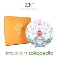 ZEN Kalender 2019 - Putih (disertai Gift Box)
