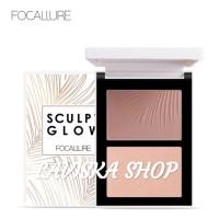FOCALLURE SCULPT GLOW Contour& Highlight Palette Duo