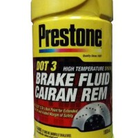 Prestone DOT 3 Brake Fluid - Minyak Rem Merah 1 Liter onderdil to