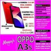 GRATIS ONGKIR OPPO A3S RAM 3GB ROM 32GB OPPO A3 S RED / PURPLE 100%