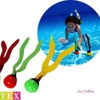 Mainan Bola Selam Renang Anak Play Underwater Fun Balls - Intex 55503