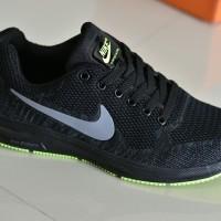 0b6fc137c4590 Sepatu Sport Nike Zoom Premium Import Hitam Abu Olahraga Running - 05