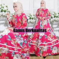 Harga baju gamis muslim syari rose | Pembandingharga.com