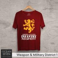 Baju Kaos Distro ARMY United States America USA Infantry Regiment