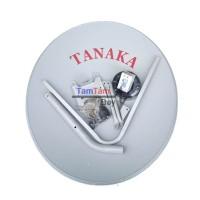 Dish Parabola Tanaka 75cm Plus Kabel Dan LNB Ku Band Satelit