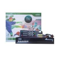 Receiver Parabola Matrix Garuda KU Hijau Pay TV Free Channel Premium