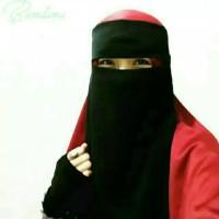 GROSIR Cadar Niqab Bandana Warna Hitam