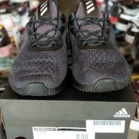 d848bb2f9 Sepatu Sneakers Pria Adidas Alphabounce Dark Grey Import