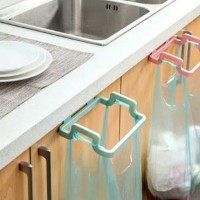 Rak gantung sampah multifungsi serbaguna trash garbage holder kitchen