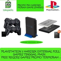 Ps2 fat Hdd external murah Playstation Ps 2 fat Sony