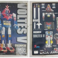 Voltes V Voltus Godaikin Rare Vintage Robot Toys
