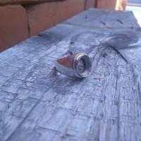 emban cincin perak handmade model tanam polos 07