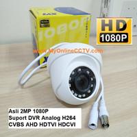 GlobeEye Camera Indoor Analog 900TVL CCTV CCD Sony Terang Malam Hari