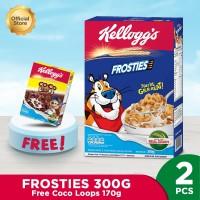 Kelloggs Frosties 300g Free Coco Loops 170g