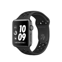 JAM PINTAR SMARTWATCH Apple Watch Series 3 Nike GPS 42mm Space Gray -