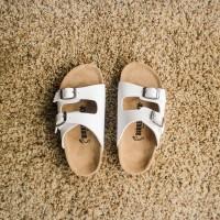 Sandal Birkenstock Anak tanggung  Gesper 2 Putih (Arizona)