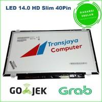 Layar lcd led laptop Asus X401 Asus X401A Asus X401U 14.0 Slim 40pin