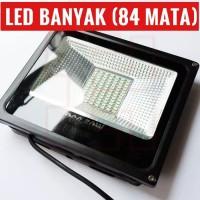 Lampu Sorot Tembak LED 50 Watt 84 Mata FloodLight Cahaya Putih