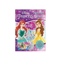 Disney Princess Activity Pack | Activity Book | Buku Mewarnai