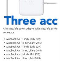 TURUN HARGA Adaptor Charger Apple Macbook Air 45W MagSa Diskon