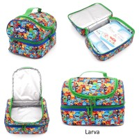Tas Bekal Anak Lunch Bag Double Smiggle (Buatan China) (MB443492)
