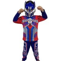Baju Anak Kostum Transformers Optimus Prime