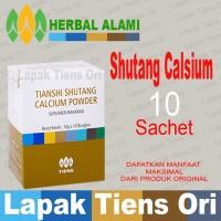Shutang Calcium Powder Tiens / Tianshi Isi 10 Sachet | Kalsium Herbal