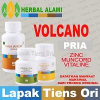 PAKET Volcano GAIRAH PRIA DEWASA Tiens tianshi ZINC, VITALINE,MUNCORD