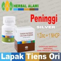 PENINGGI REMAJA Tiens Tianshi HERBAL (SILVER), Zinc+NHCP