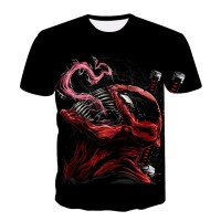 Newest Marvel Movies Venom Spider Man Tom Hard T-shirt 3D print Shirt