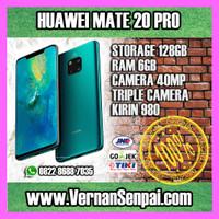 Huawei Mate 20 Pro 6GB / 128GB Leica AI Camera Abangnya P20 Pro GLOBAL