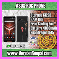 ASUS ROG PHONE 8GB / 512GB REPUBLIC OF GAMERS GAMING EDITION NEW ORI