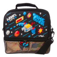 Smiggle Fave Hardtop Lunchbox W/ Strap Black