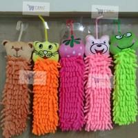 Hand Towel / lap tangan / handuk tangan microfiber-Random Colour