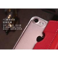 Remax Foldy Series Leather Case for iPhone 7/8 Plus - Black Terbatas