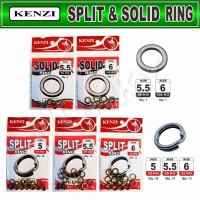 KENZI SPLIT & SOLID RING