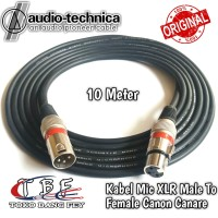 Kabel Mic XLR 10 Meter Male to Female Canon Canare
