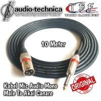Kabel Mic XLR 10 Meter Male to Akai Mono Canare