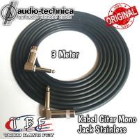 Kabel Gitar 3 Meter Jack Akai Mono L To L