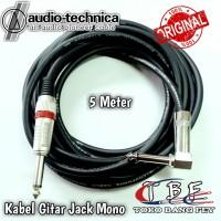 Kabel Gitar 5 meter Jack Akai Mono To Akai Mono 'L'