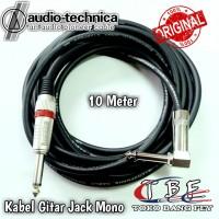 Kabel Gitar Jack Akai Mono 'L' to Akai Mono Canare 10 meter