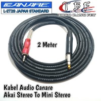 Kabel Audio Canare 2 Meter Akai Stereo To Mini Stereo 3.5mm