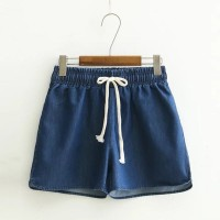 HIGH QUALITY celana pendek jogger jeans pants short korea tebal XMD