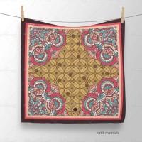 Best Buy! Batik Mandala - Hijab Scarf Jilbab Voal Segi Empat Umkachick