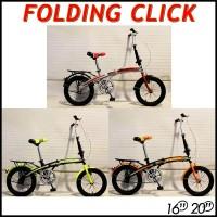Sepeda Lipat 16 Genio Fold Click 2019