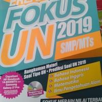 Buku Erlangga Fokus UN 2019 Untuk SMP dan MTS + CD