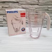 PHILIPS JAR BLENDER PLASTIK HR 2957 UNTUK HR 2115 / HR 2061 ORI ASLI