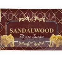 Dupa India (Aromaterapi) Pouch Plastic - Tulasi Sandalwood 35 Sticks
